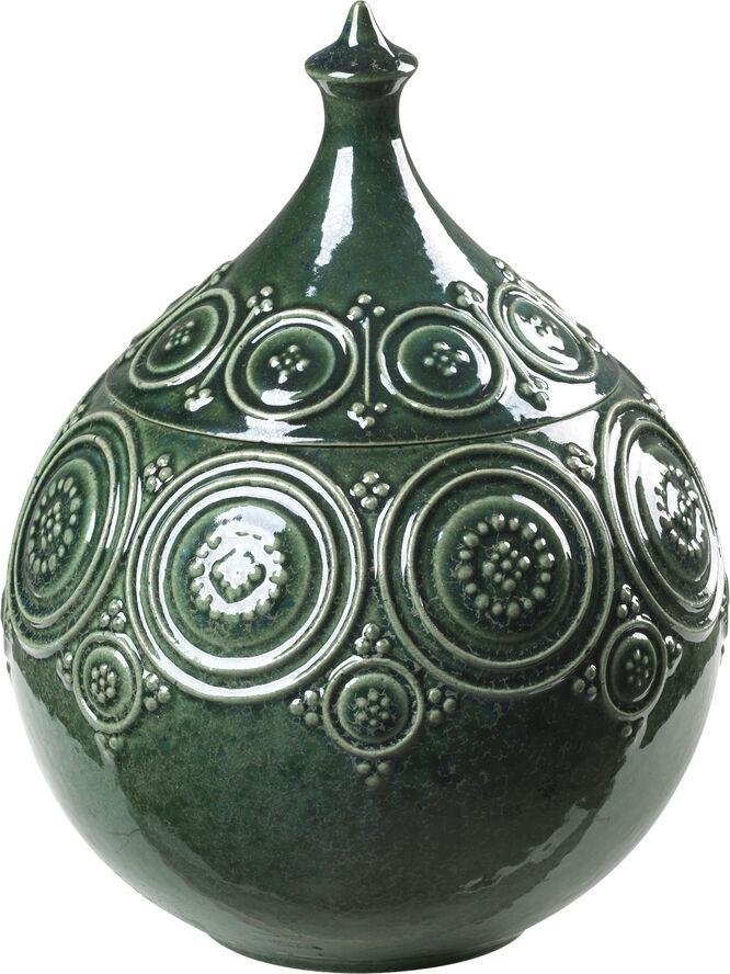 Symphony Magic Jar Ø15,5 mørk grøn