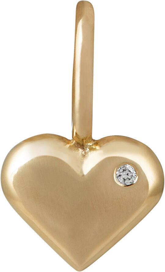 Rock my heart pendant