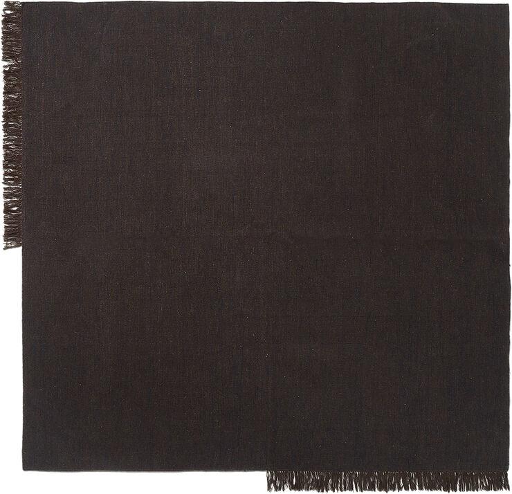 Kelim Rug - Square - Dark Melange