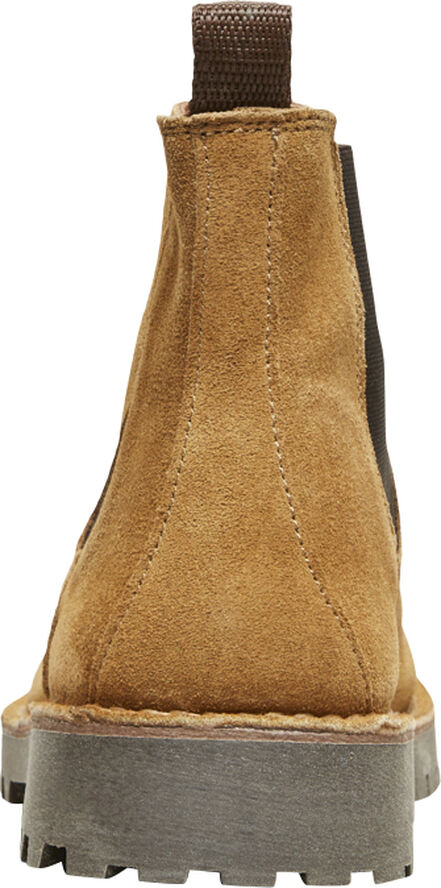 SLHRICKY SUEDE CHELSEA BOOT W