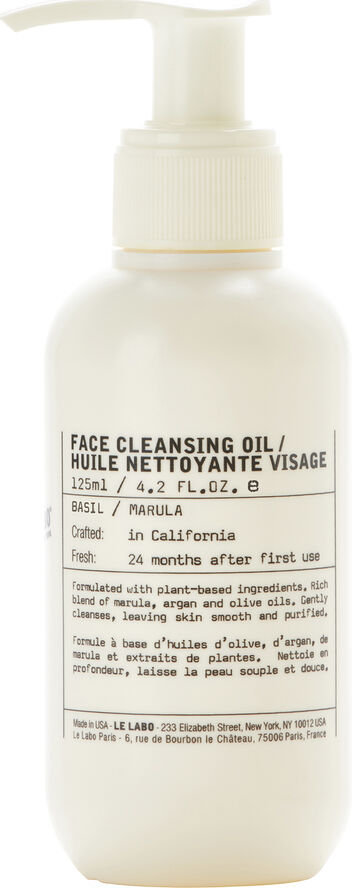 FACIAL CLEANSING OIL BAS 125ML/4.2F