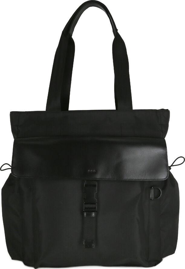 Cosmos Backpack Tote - Black