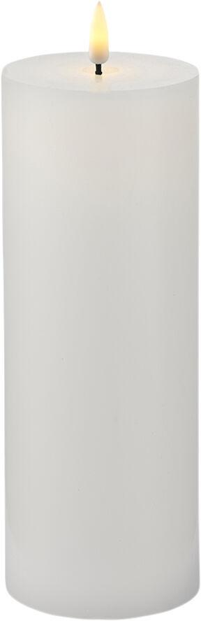 Sille Exclusive Ø7,5xH20cm, Hvid