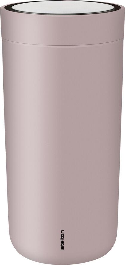 To Go Click d. steel, 0,4 l. - mat lavender