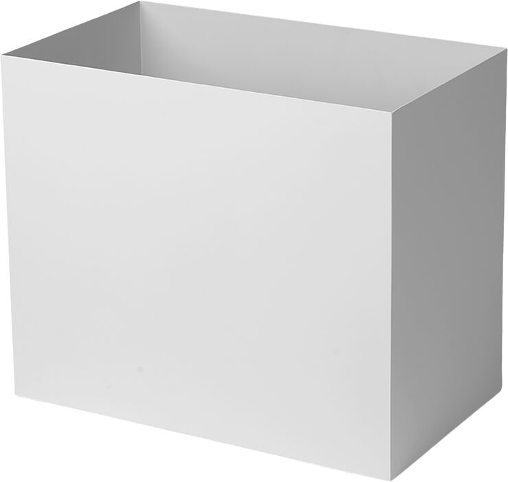Plant Box Pot Large - Light Grey