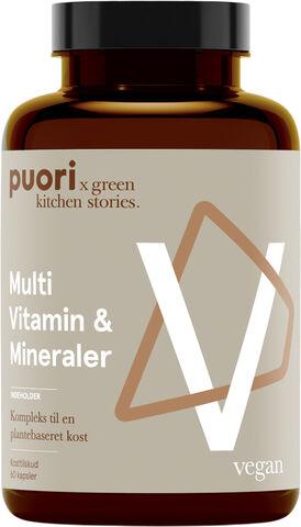 PUORI VM Multi Vitamin & Mineraler - 60 capsules