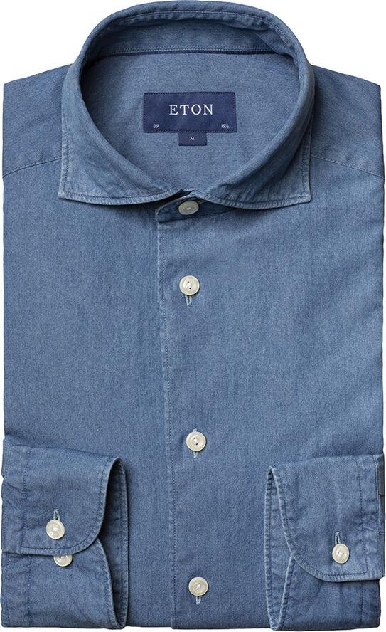 Contemporary Fit Lightweight denim shirt