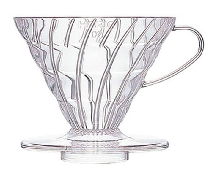 Hario Dripper V60 2 cup, plastic