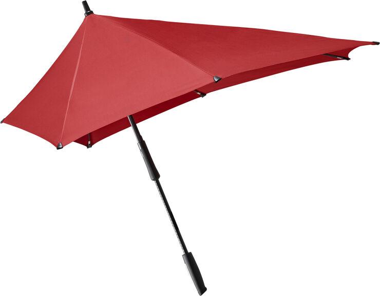 Senz° XXL stick storm umbrella passion red