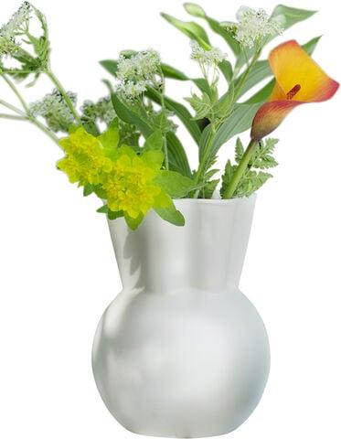 Stor vase hvid - big white vase / SVUNGEN TOP