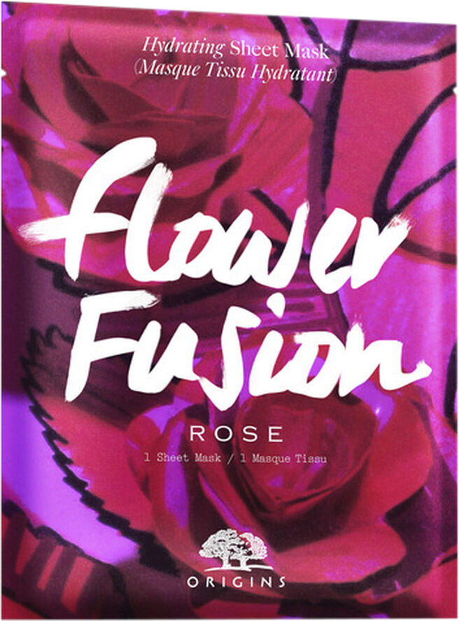 Flower Fusion Rose Hydrating Sheet Mask