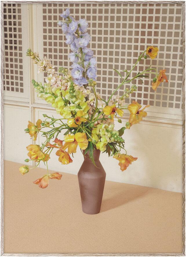 Blomst 06 (beige)