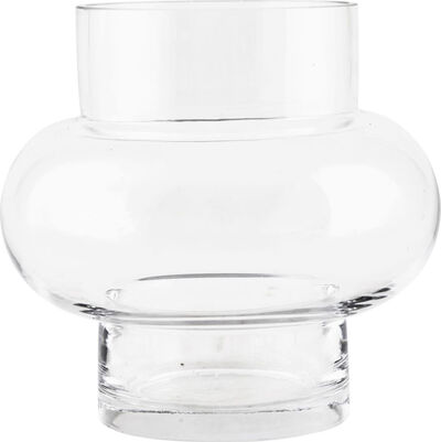 Vase Forms Low Klar