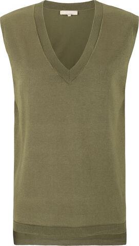 Zara V-neck Loose Fit Knit Vest