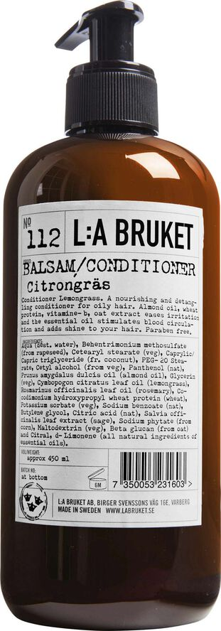 Conditioner Lemongrass 450 ml.