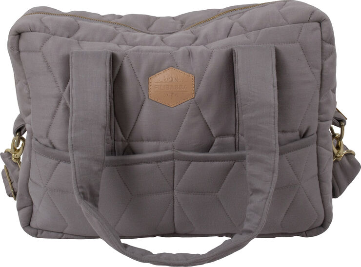 Pusletaske Soft Quilt - Dark Grey