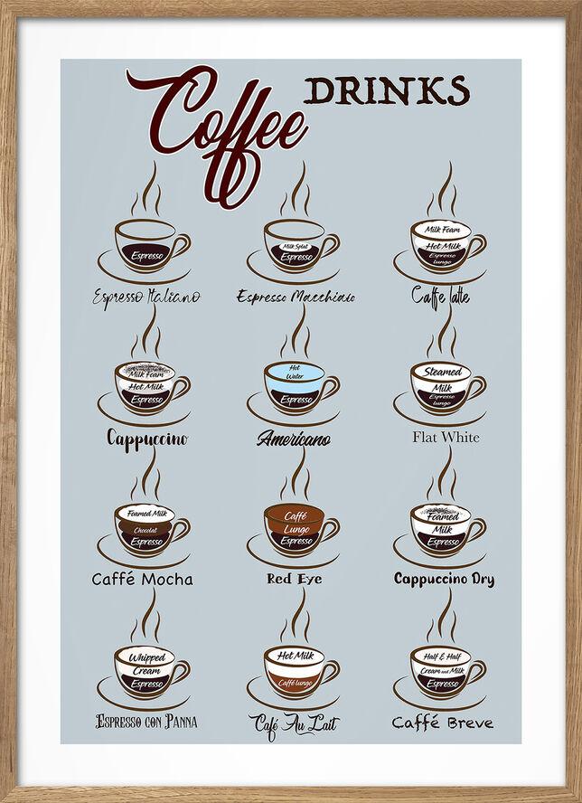 Wonderhagen - Kaffe Poster