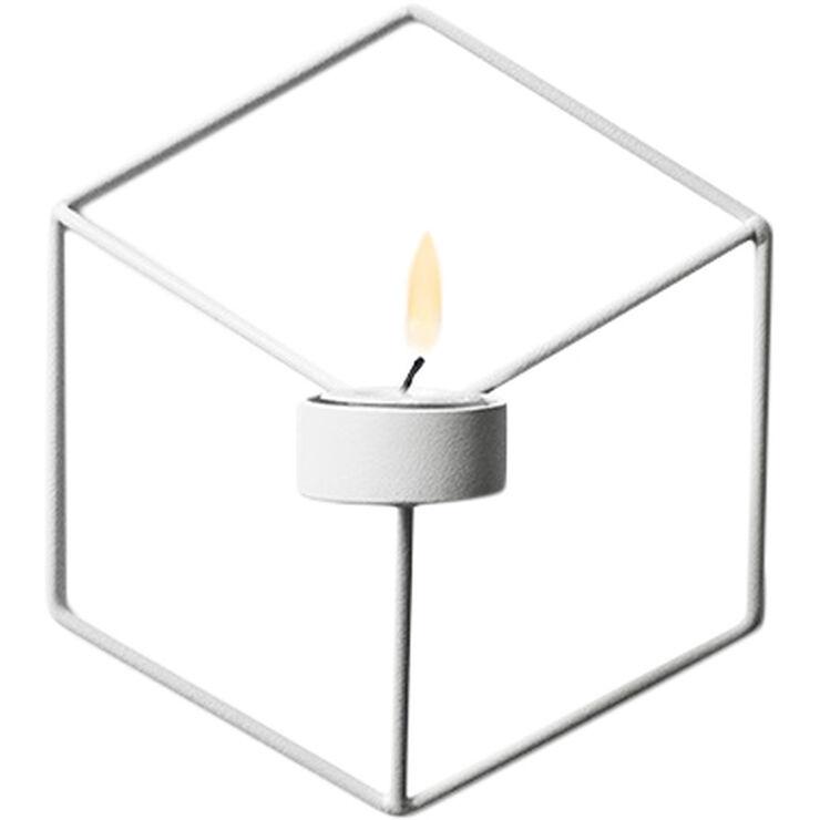 POV Candleholder Wall, White