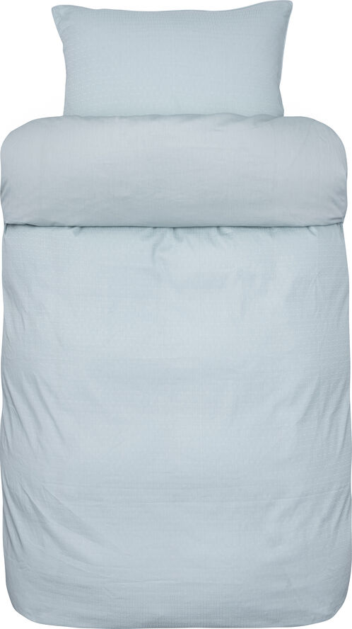 Helsinki 2-delt sengesæt lys blå