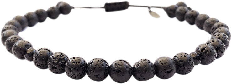 Malte Bracelet Lava/Onyx