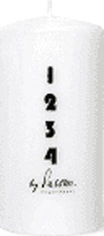 Adventslys / bloklys 6 x12 cm