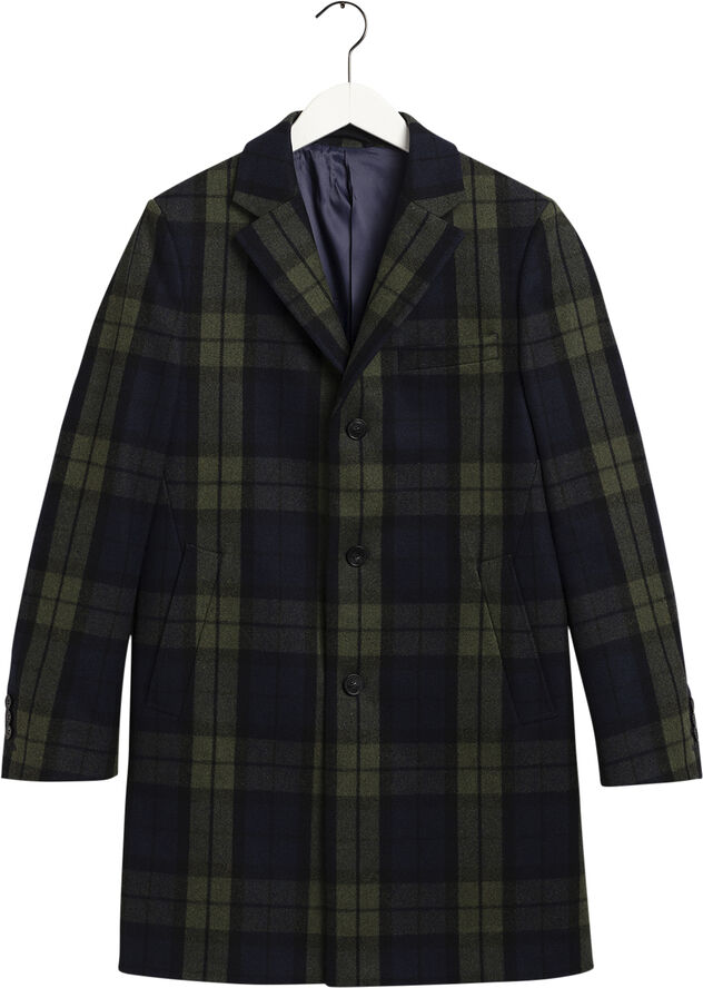 D1. THE CHECKED COAT