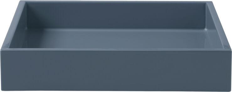 Lak bakke 19*19*3,5 Blue Indigo
