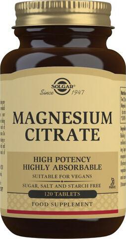 MAGNESIUM CITRATE 400MG (120TABL)