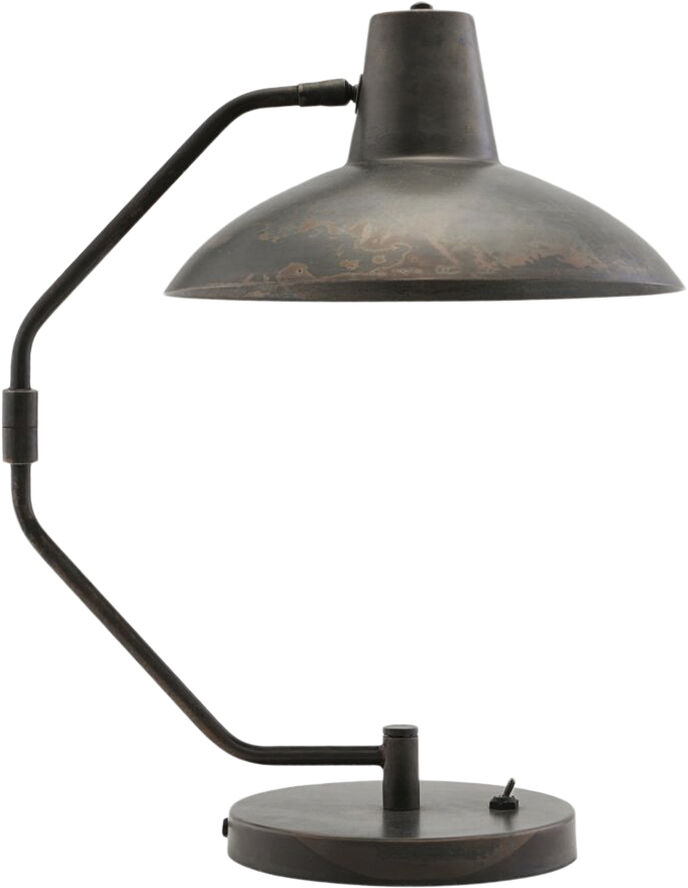 Bordlampe, Desk, Antik brun, E27, Max 40 W, 2.5 m ledning