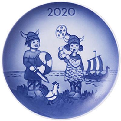 Bing & Grøndahl samlerartikler 2020 - Barnets dag platte: De små vikin