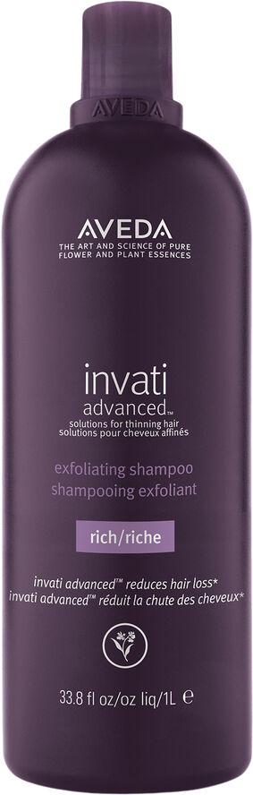 Invati Advanced Exfoliating Shampoo Rich 1000ml