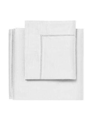 Egyptisk sengesæt hvid