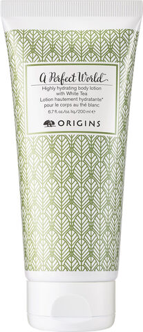 A Perfect World Highly Hydrating Body Lotion with White Tea 200 ml.