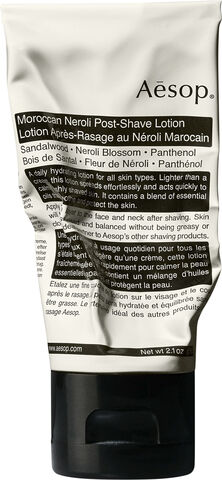 Moroccan Neroli Post-Shave Lotion