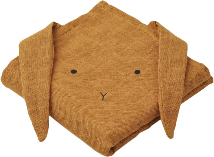 Hannah muslin cloth rabbit 2 pack