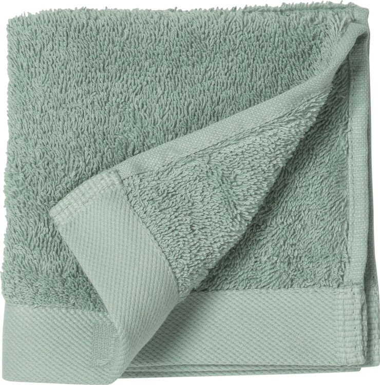 Vaskeklud 30x30 Comfort Organic teal