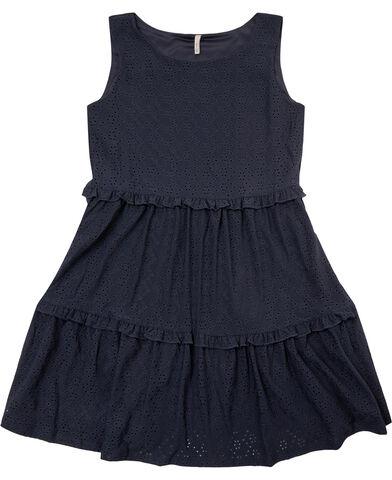 KONLINA S/L O-NECK DRESS JRS