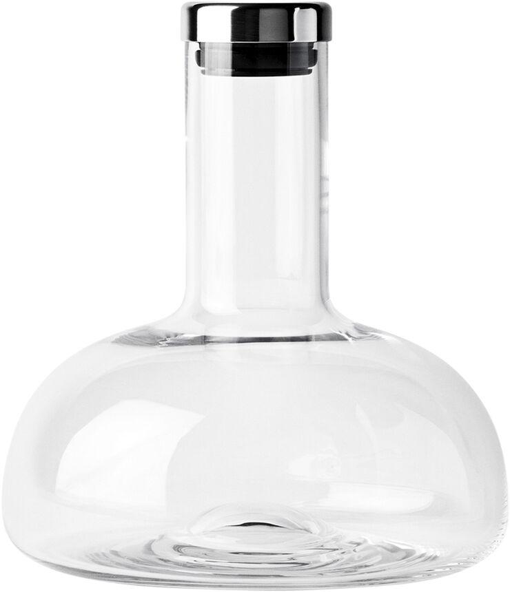 Wine Breather, Clear/Steel