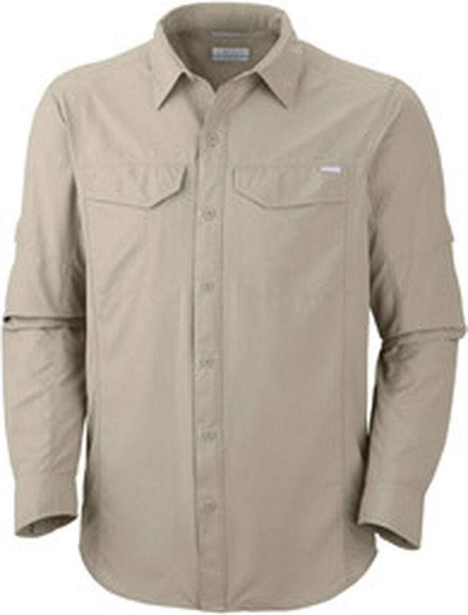 COLUMB M SilverRidge LS Shirt, Fossil
