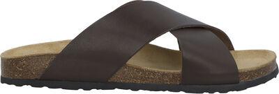 BIACEDAR Cross Leather Sandal