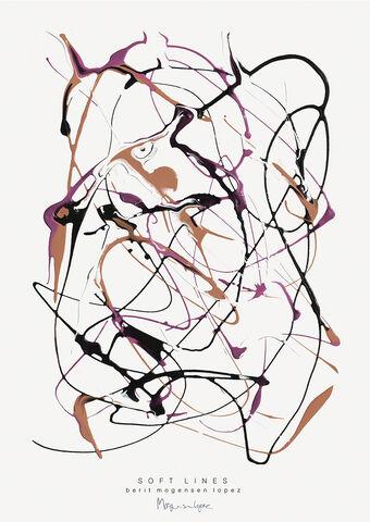 Berit Mogensen - Soft Lines no. 1 A5