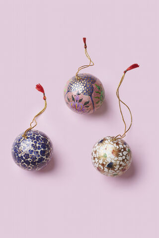 Handpainted Christmas Ornament