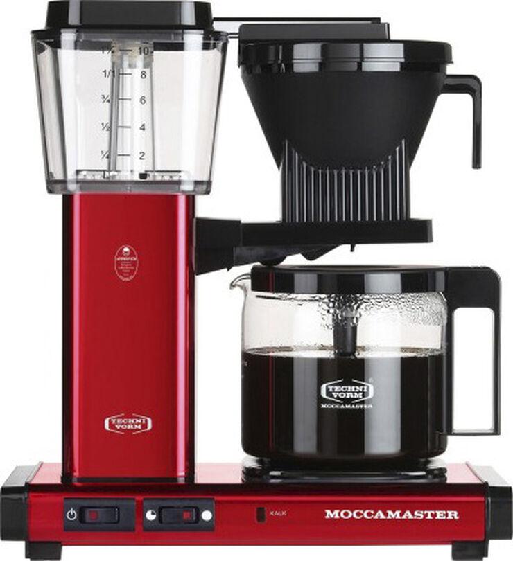 Kaffemaskine Red Metallic