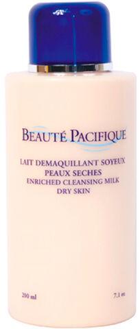 Lait Demaquillant Soyeux Peaux Seches 200 ml.