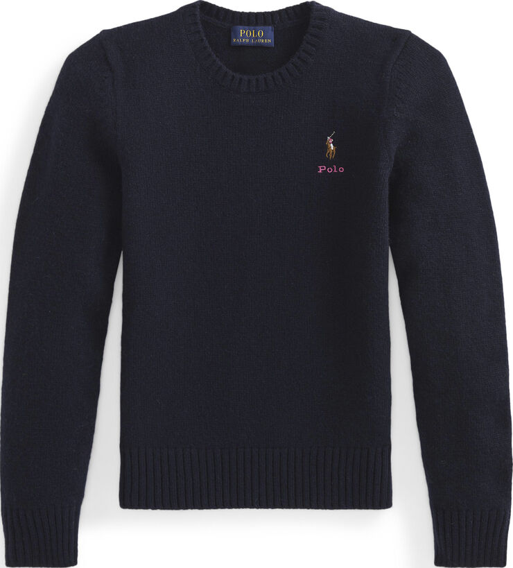 WOOL CASHMERE-WOOL CREW-TP-SWT