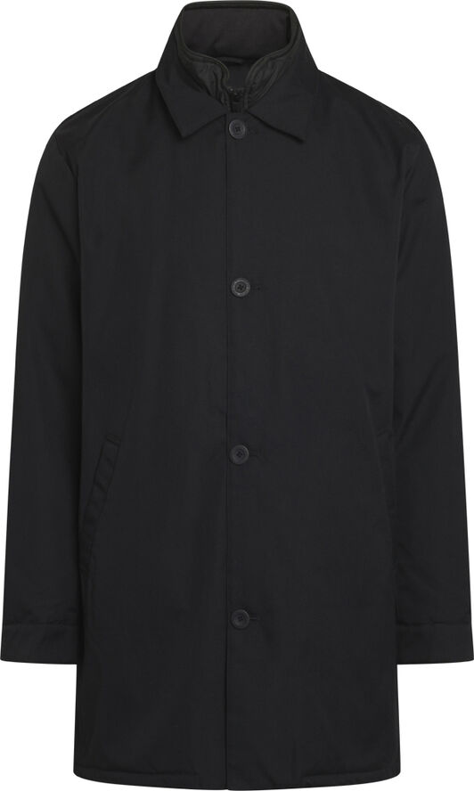 Climate shell jacket with buttons - GRS/Vegan