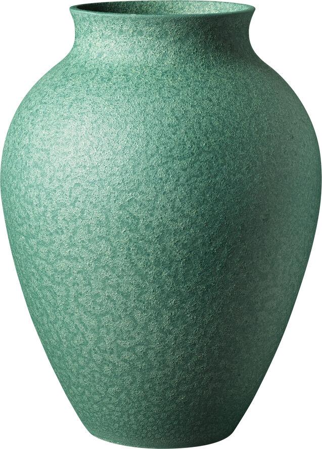 Knabstrup vase, irgrøn, 27 cm