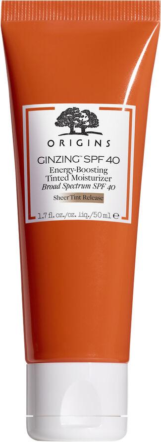 GinZing SPF 40 Energy-Boosting Tinted Moisturizer 50 ml.