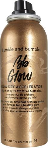Glow blow dry accelerator