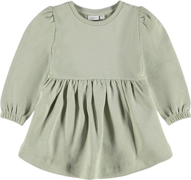 NMFBEFRIDA LS SWEAT DRESS UNB